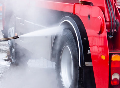 Commercial Vehicle Cleaning