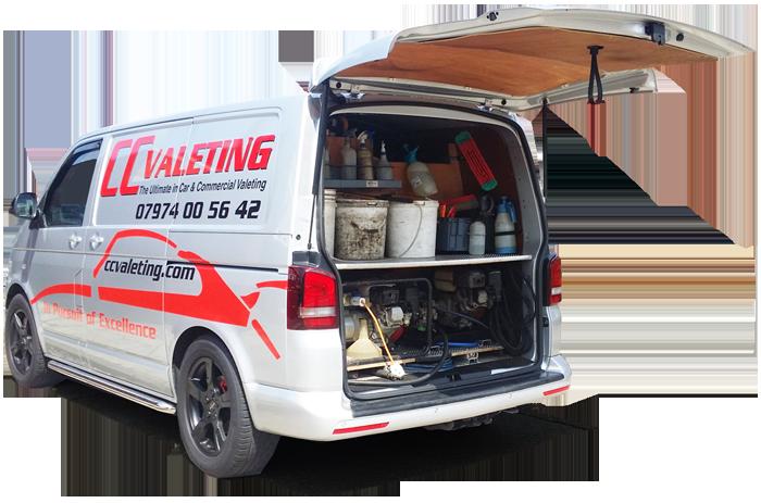Car Wash Mobile Van